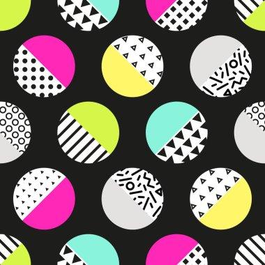 circles abstract pattern