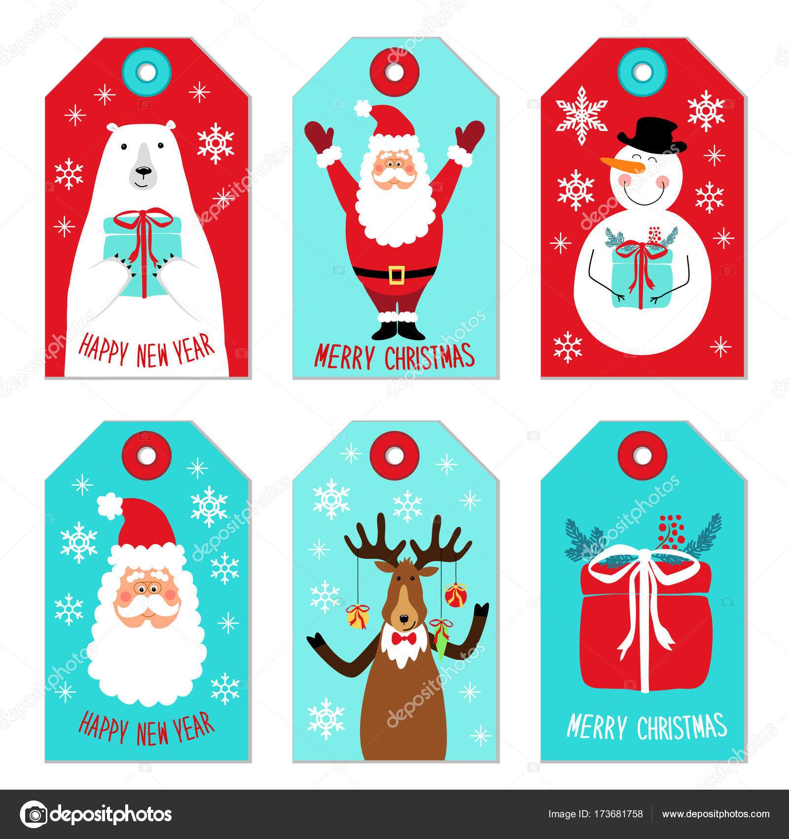 Bilder Comic Weihnachten.Süße Weihnachten Comic Figuren Weihnachtsmann Rentier Schneemann