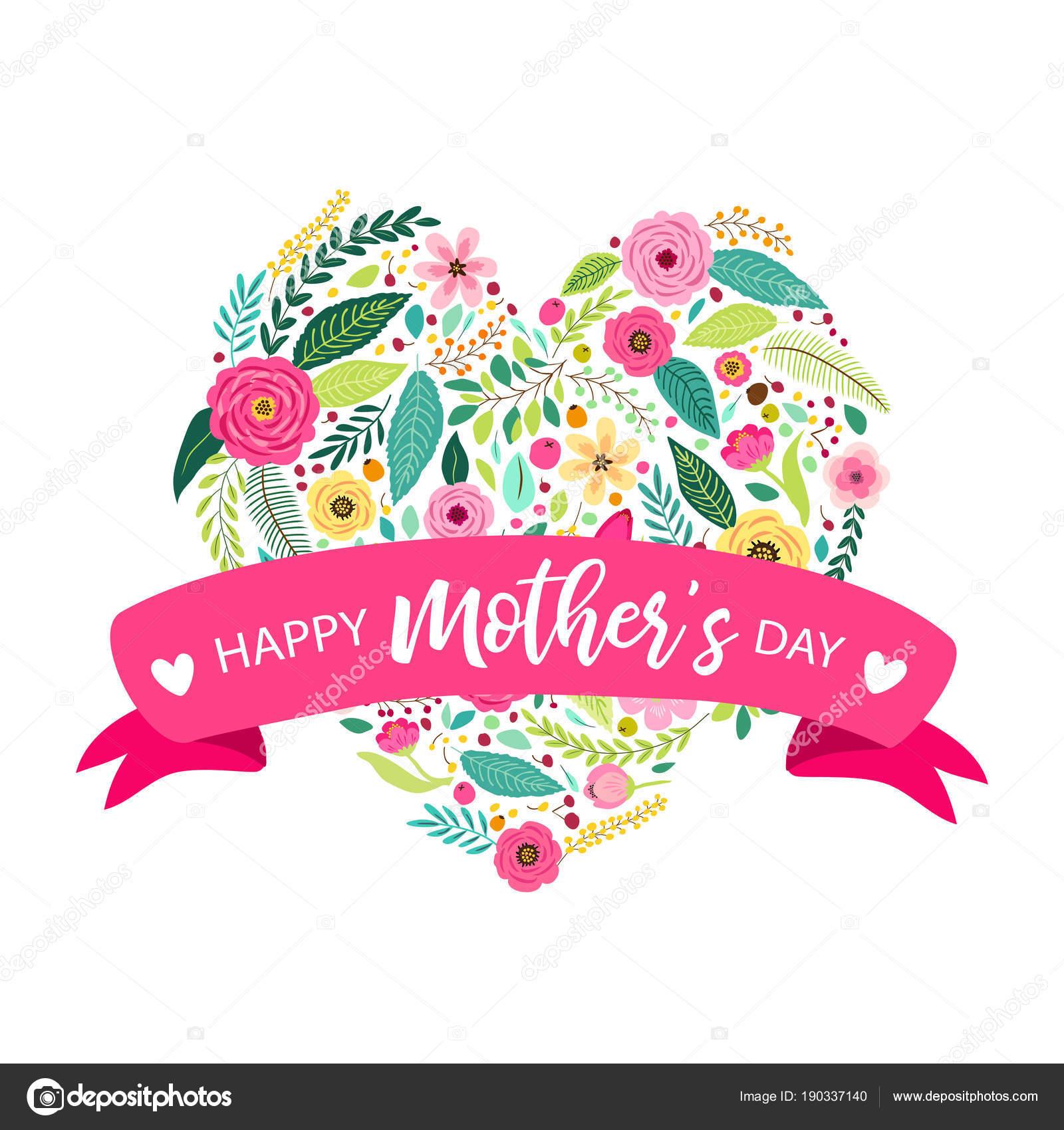 Imagenes Logo Con Flores Vintage Lindo Mano Vintage Dibuja Flores