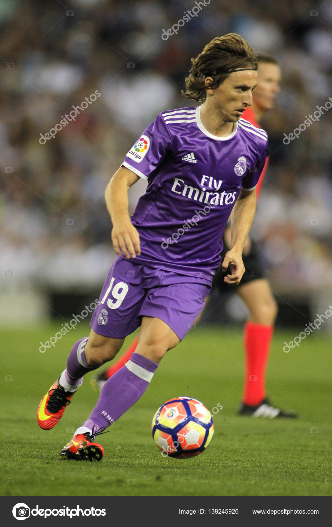 pretty nice 8527f d6891 Luka Modric of Real Madrid – Stock Editorial Photo ...