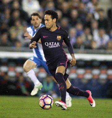 Neymar Da Silva of FC Barcelona