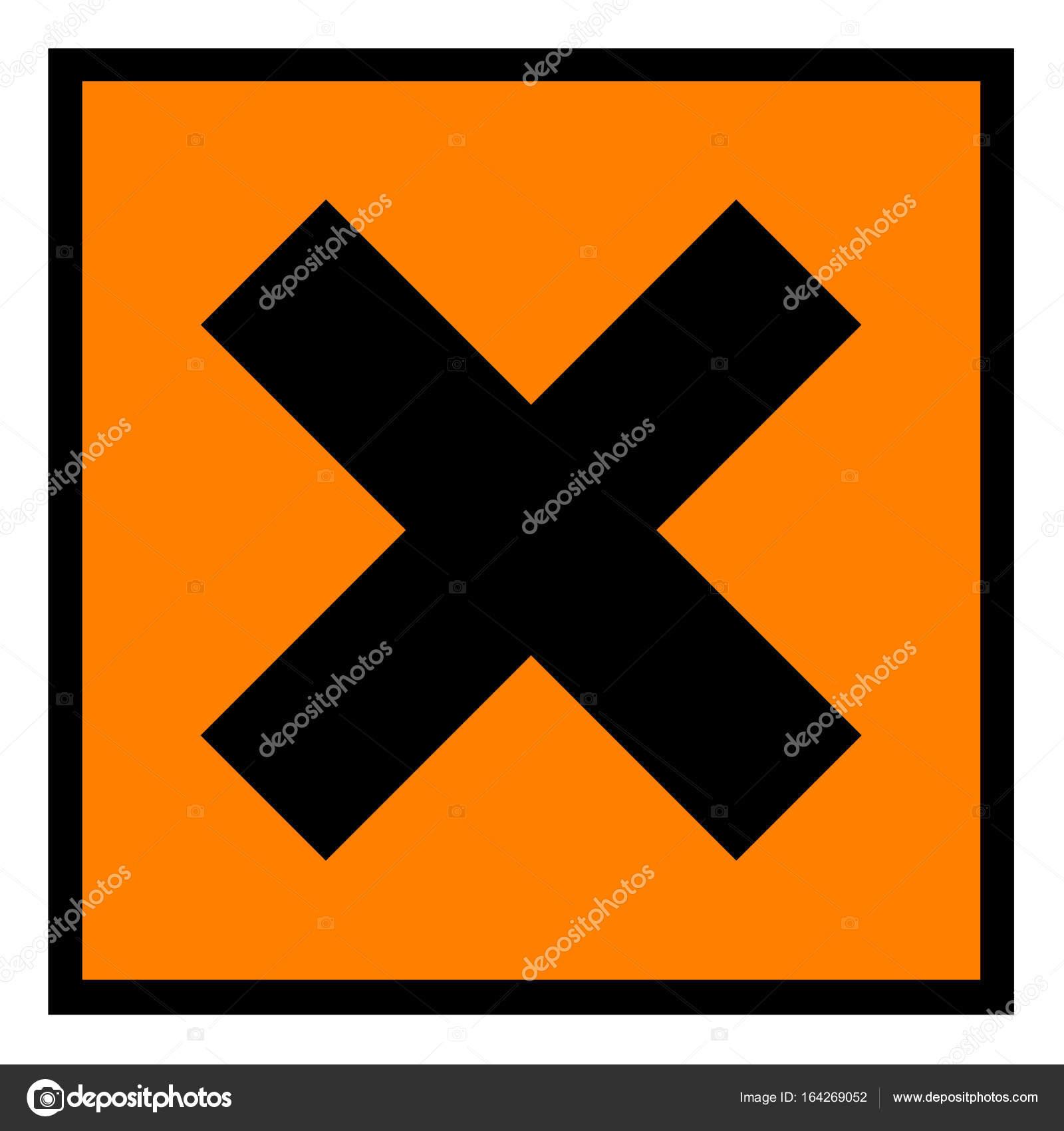 European hazard symbol irritant stock photo vierra 164269052 european hazard symbol irritant stock photo biocorpaavc Gallery