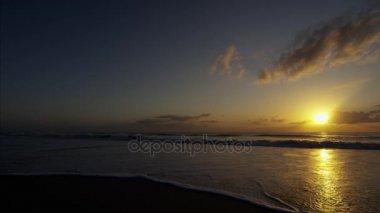 Caribbean paradise at sunrise