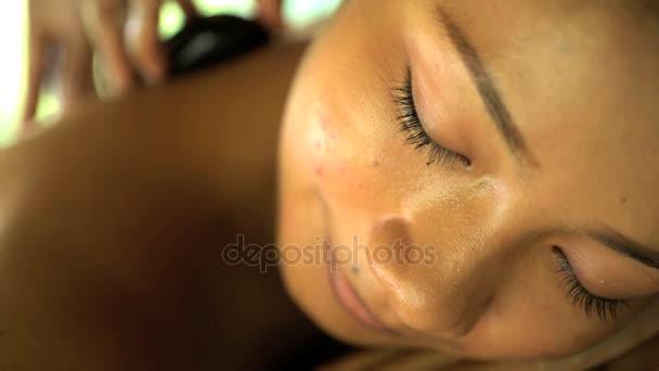 Hot stone alternative healing therapy