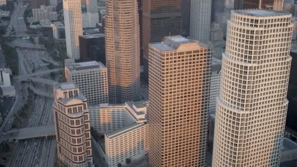 kancelářských mrakodrapů města Los Angeles