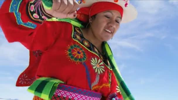 Tradicionalmente Vestido De Mujer Estilo Baile De América Latina