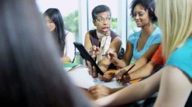 tutor leading class