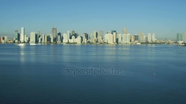 alba dei grattacieli di Miami Downtown