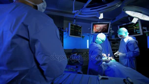 laparoscopic training surgical operation