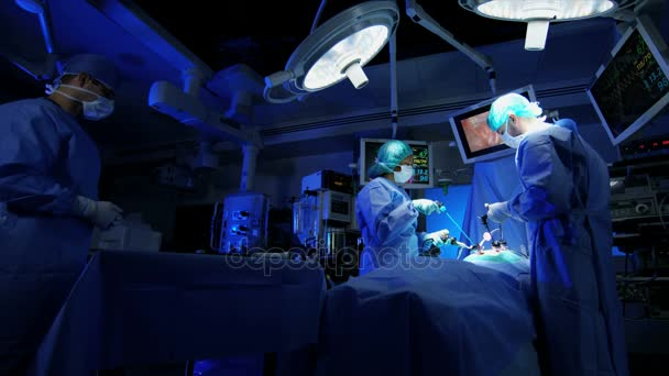 laparoscopic surgical operation