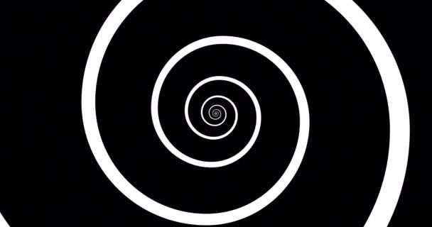 Animation von Endlosspirale, Loopvideo in 4 Versionen