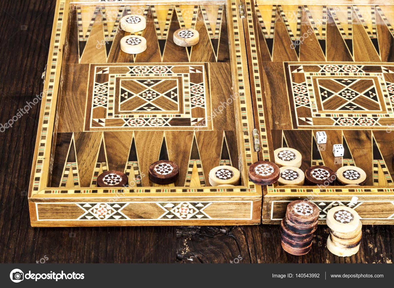 Spiel Backgammon