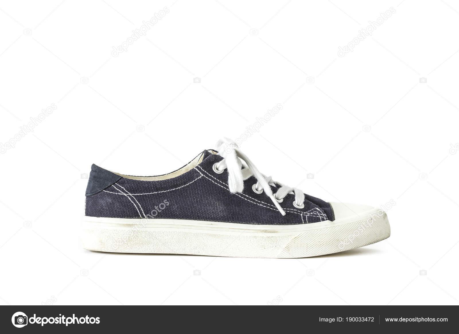 Bianco Isolato Pizzo Sneaker Unisex Fondo Scarpe Blu Scuro Sportive YxZ6Cqqw8