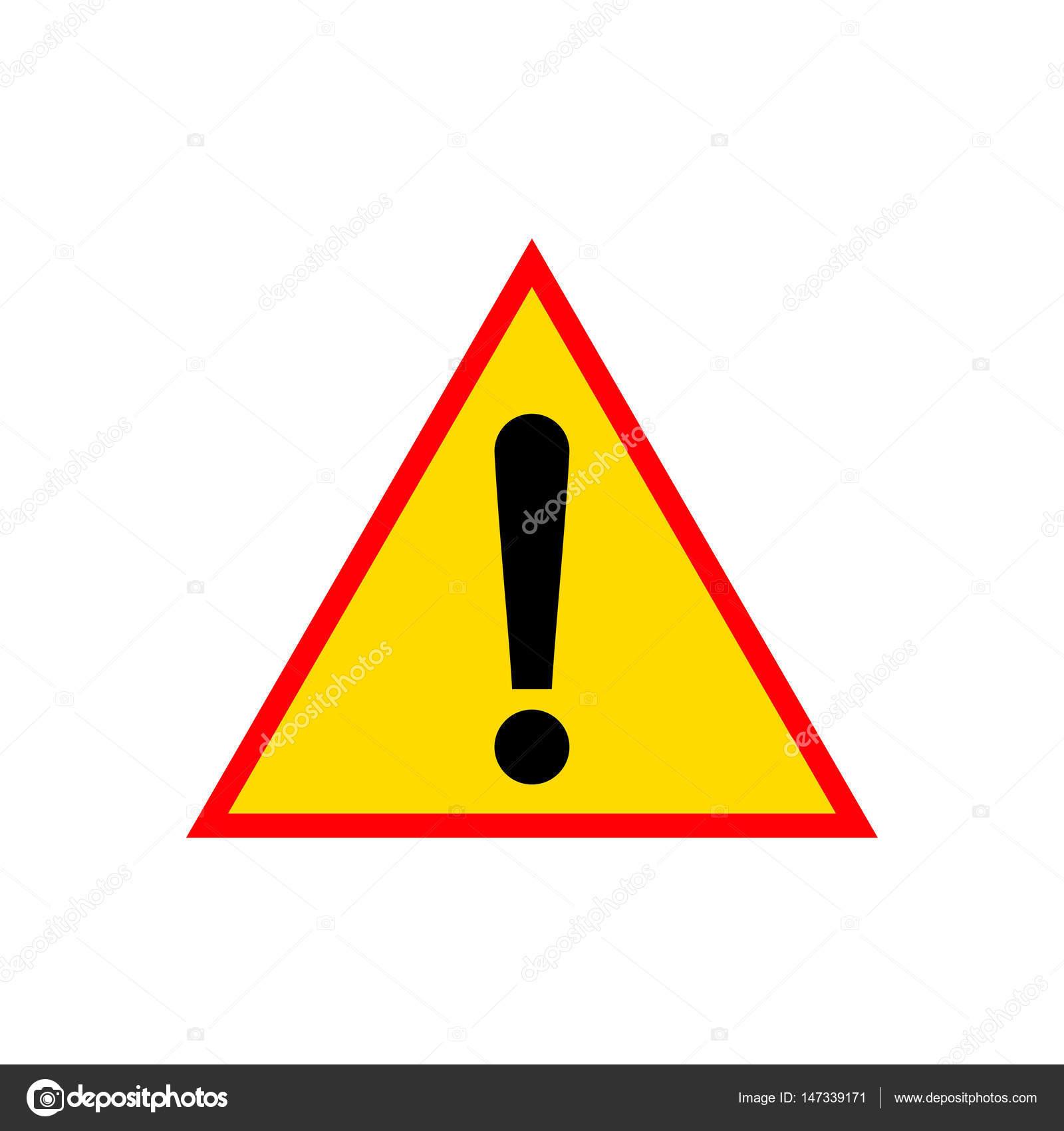 желтый знаком восклицательным роутер с треугольник