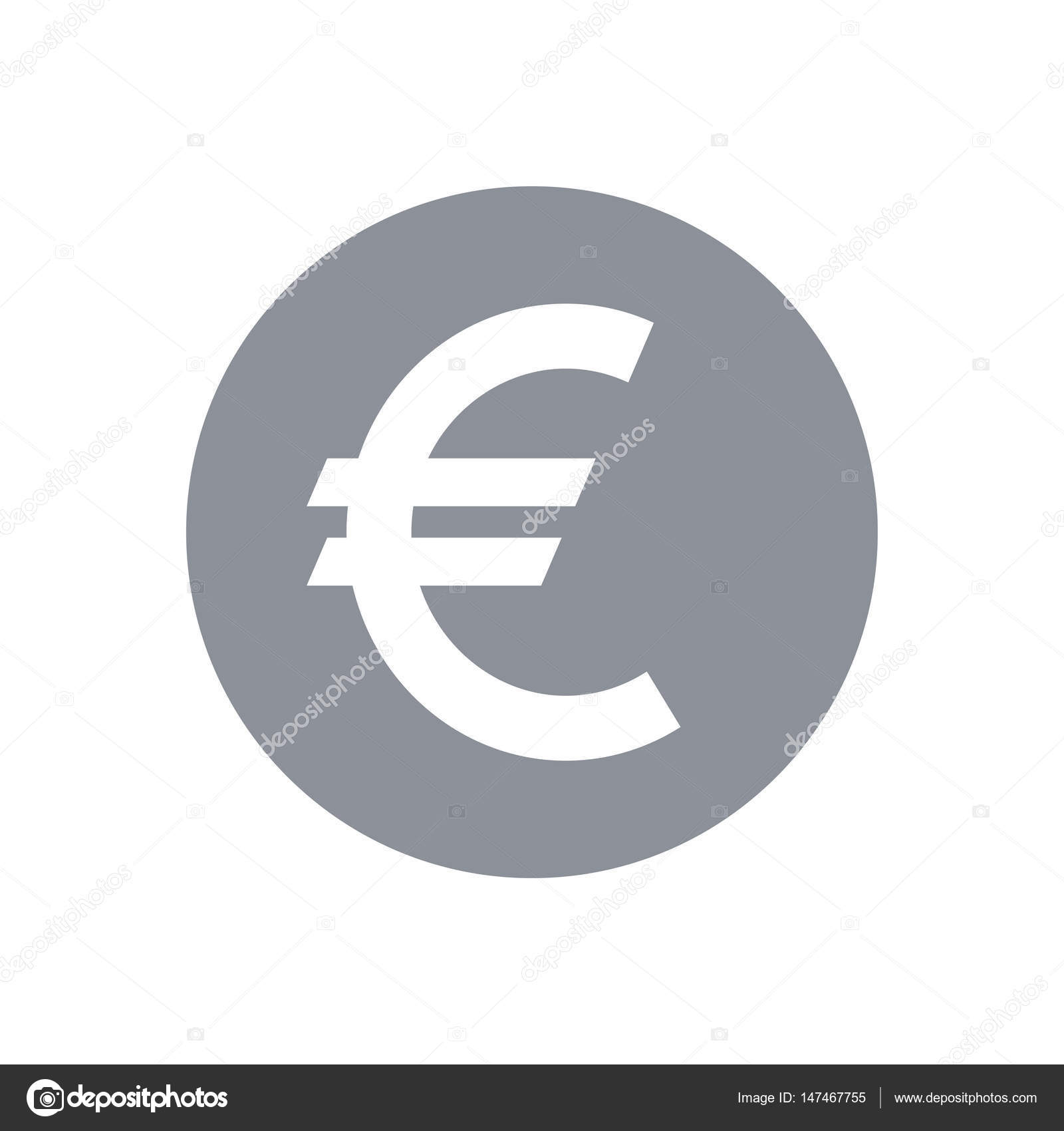 Euro teken pictogram — Stockvector © Sergt #147467755
