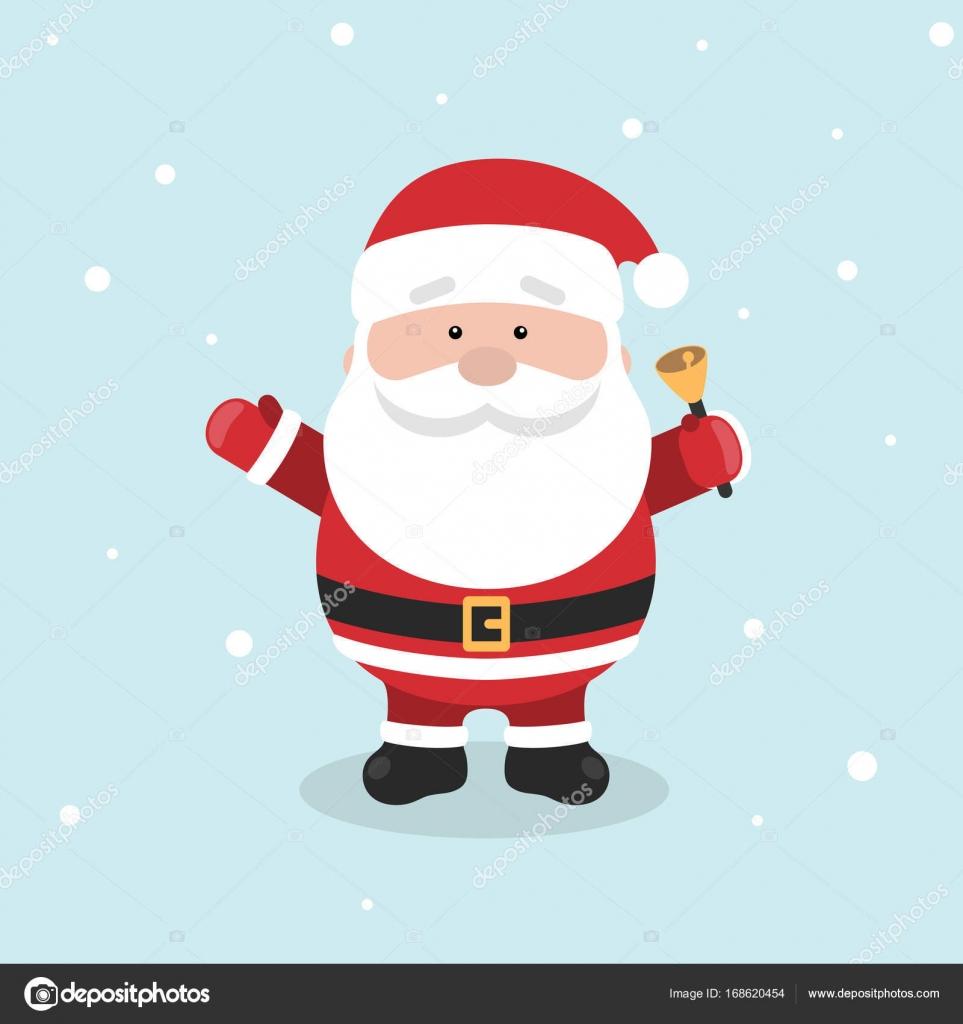 Desenho De Papai Noel Para O Natal E Ano Novo Saudação