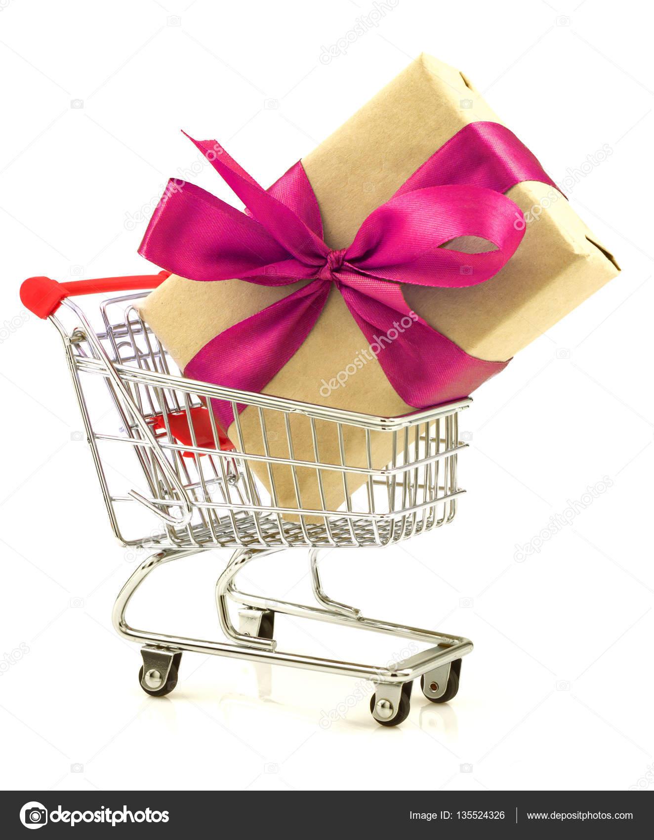 Geschenk mit leichten Magenta Band in den Warenkorb legen ...