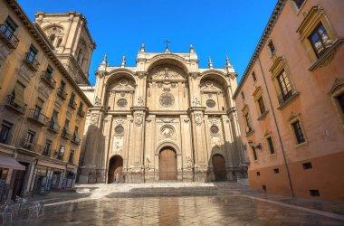 Granada Cathedral. Plaza Pasiegas
