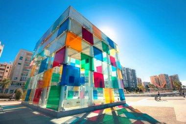 Contemporary museum Pompidou center