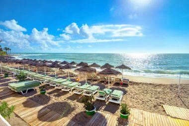 Benalmadena beach at Costa del Sol