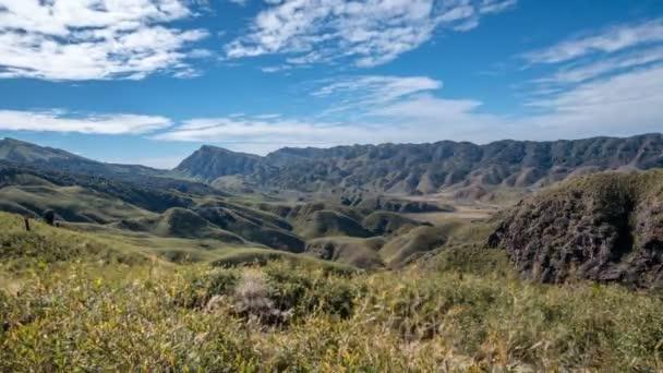 Dzukou valley in nagaland timelapse
