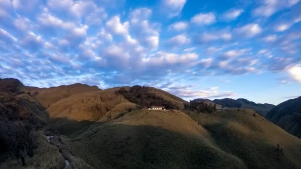 sunset in dzukou valley timelapse in nagaland