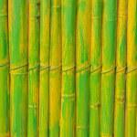 빈티지 나무 울타리의 그린 파란색 페인트 — 스톡 사진 ...