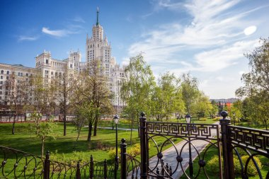 Beautiful city summer landscape, the capital of Russia Moscow, t