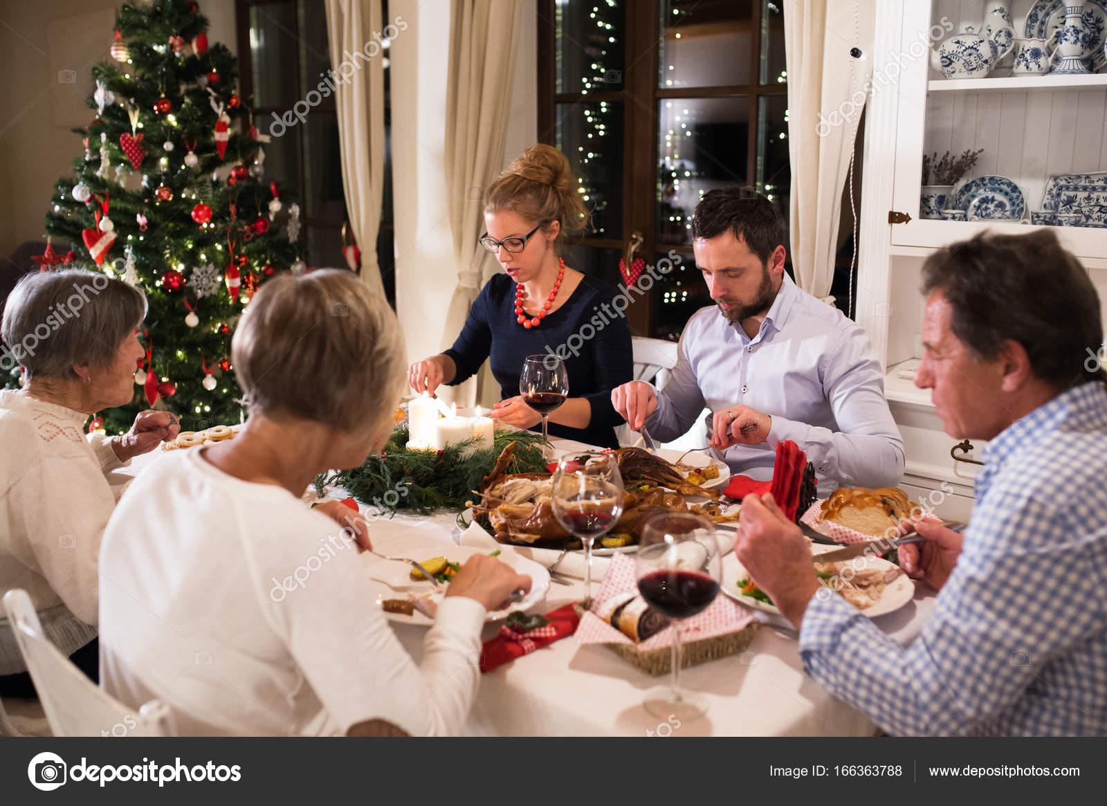 kerst eten thuis
