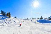Fotografie Winterlandschaft in Alpen