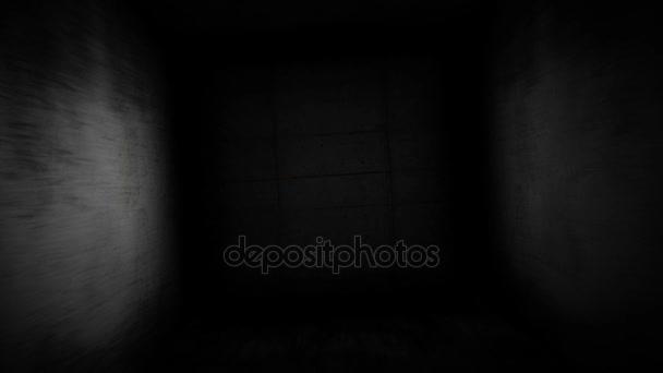 Felkiáltójel egy sötét folyosón