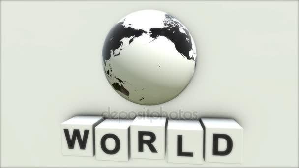 das Konzept des Wortes Welt. was bedeutet das Wort Frieden. Welt