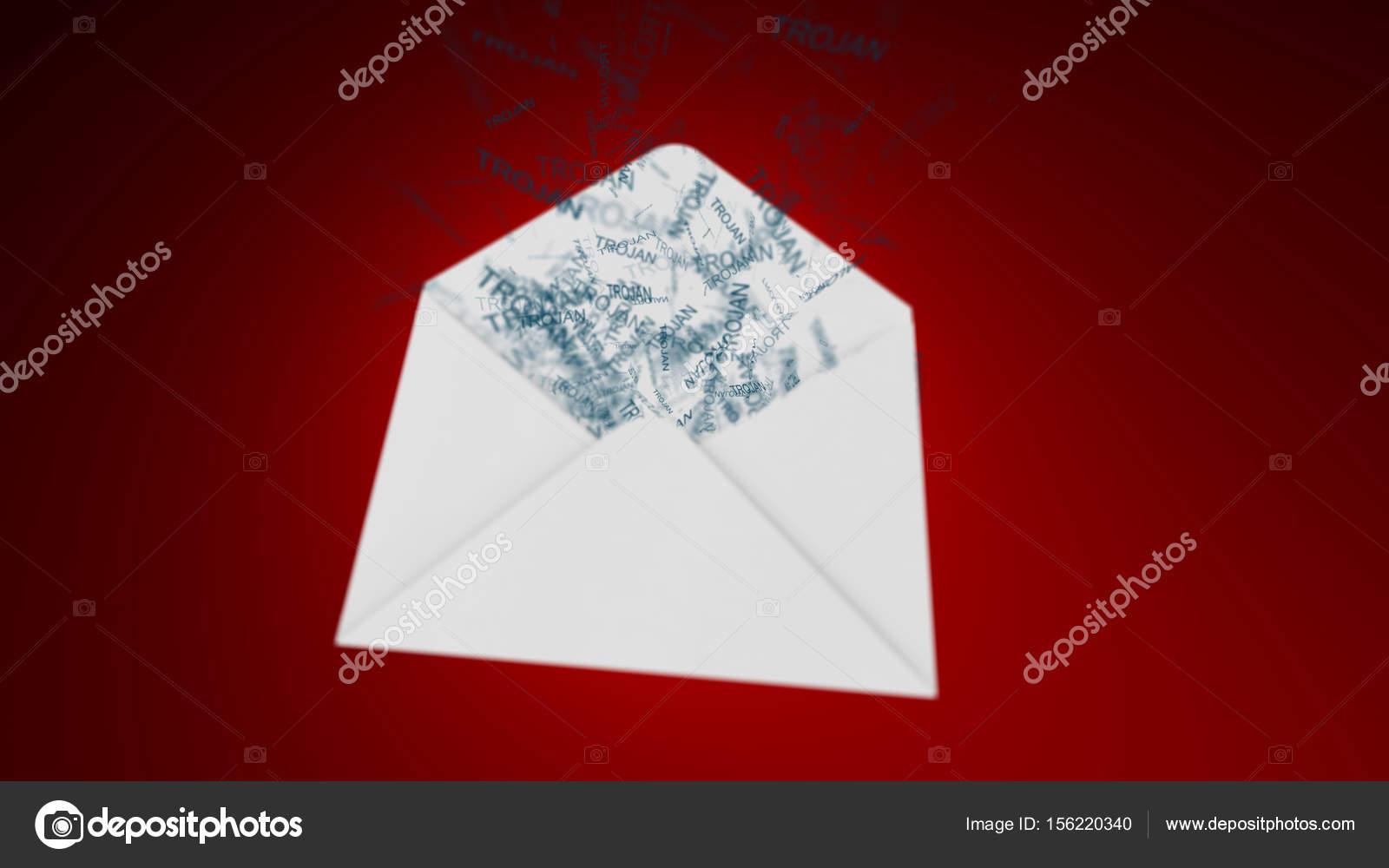 Trojan virus  E-mail virus  attack via the global network