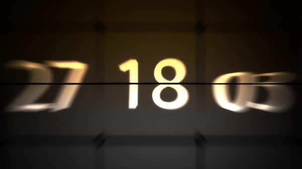 Zahl des Chaos. viele schnell wechselnde Zahlen. Code ändern