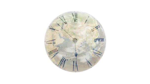 Föld és az idő. Az óra megy gyorsan