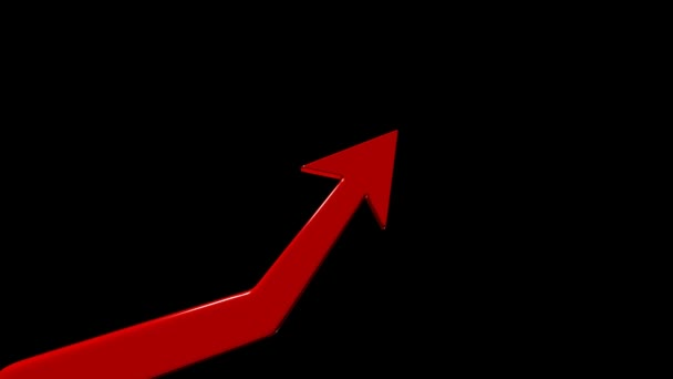 Growth chart. Financial success. Positive forecast