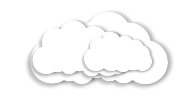 Felhő. Cloud tárolási. Internet raktározás koncepció.