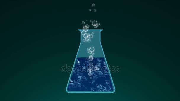 A koncepció egy kémiai reakció. A Mengyelejev Periódusos rendszer