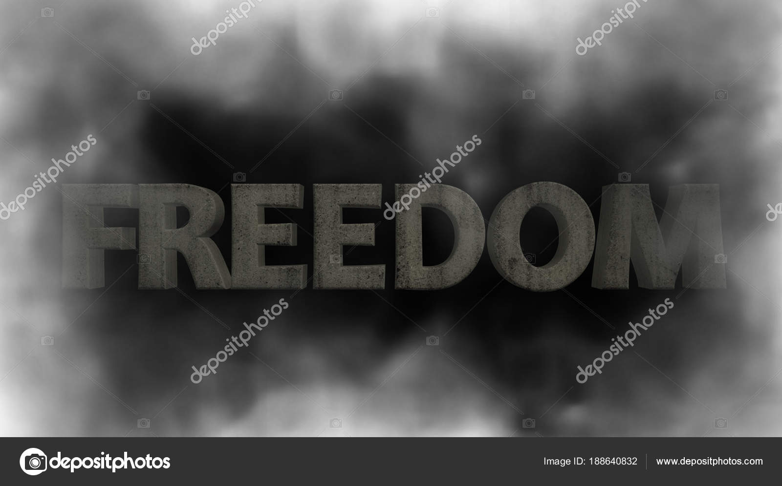 Freiheit im Nebel. Rauch Nebel fliegt an den Rändern. Rahmen von ...