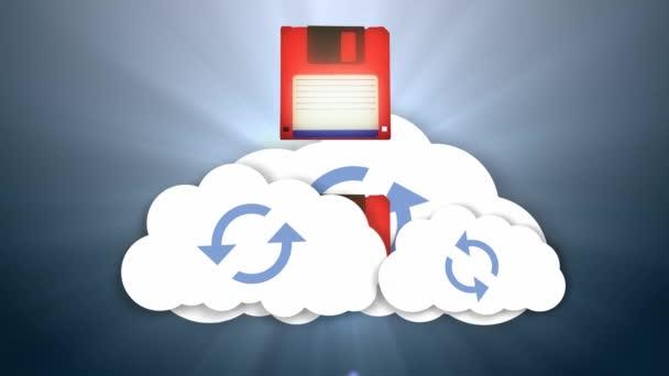 Információkat, és a felhő. Felhő-kiindulópontul szolgáló média raktározás. Biztosít online raktározás