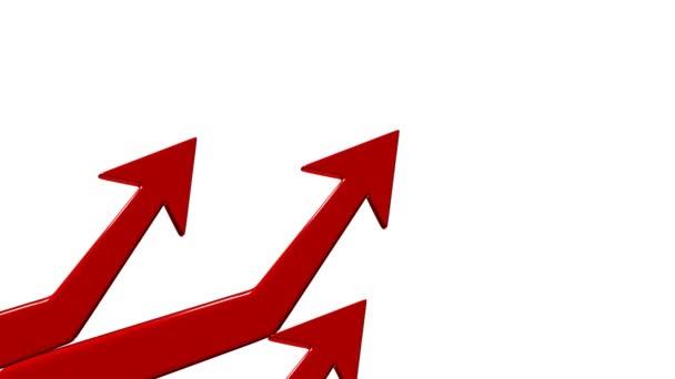 Financial success. Positive forecast. Arrow up. 15.