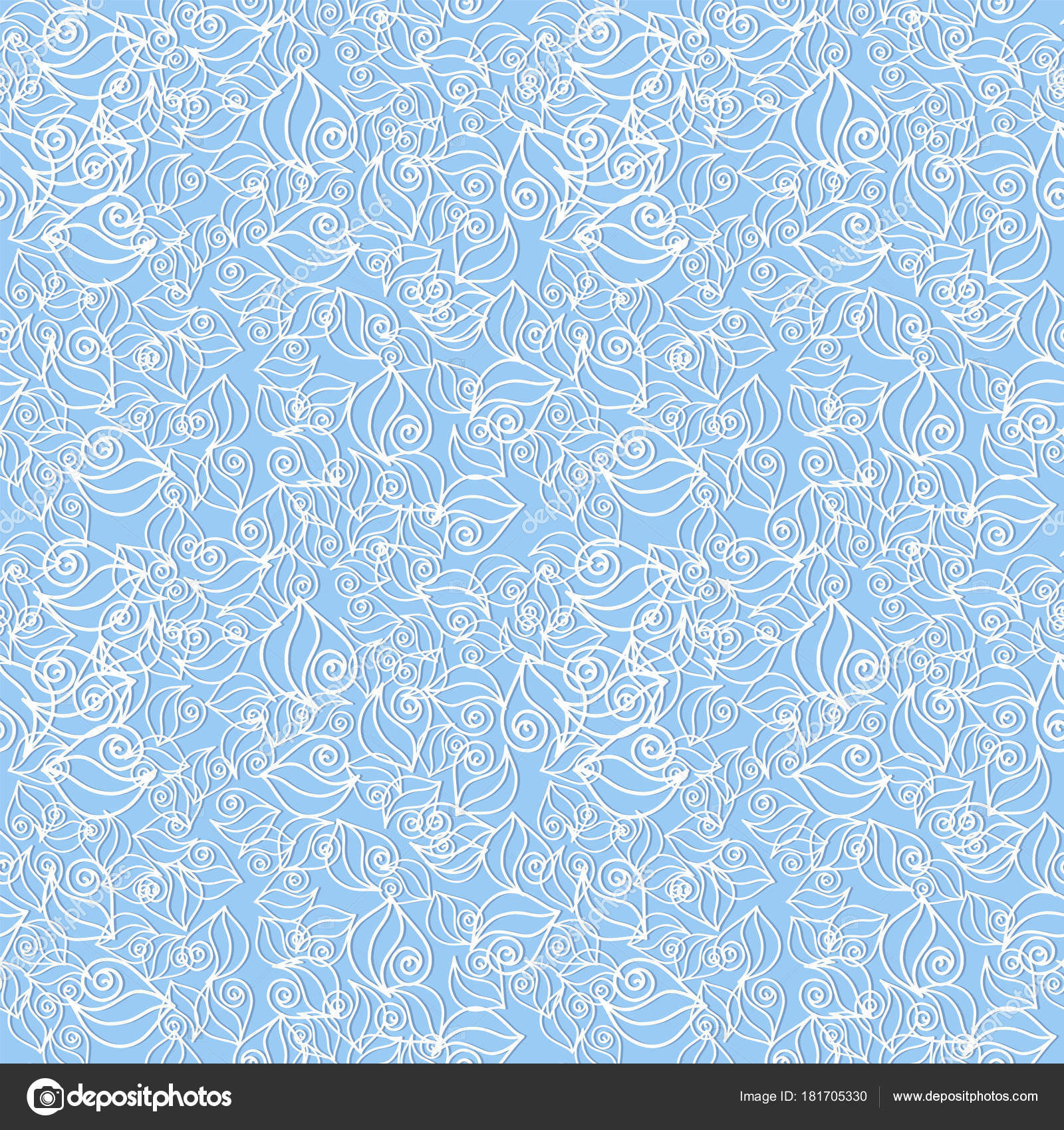 seamless blue pattern vector background abstract shapes patterned