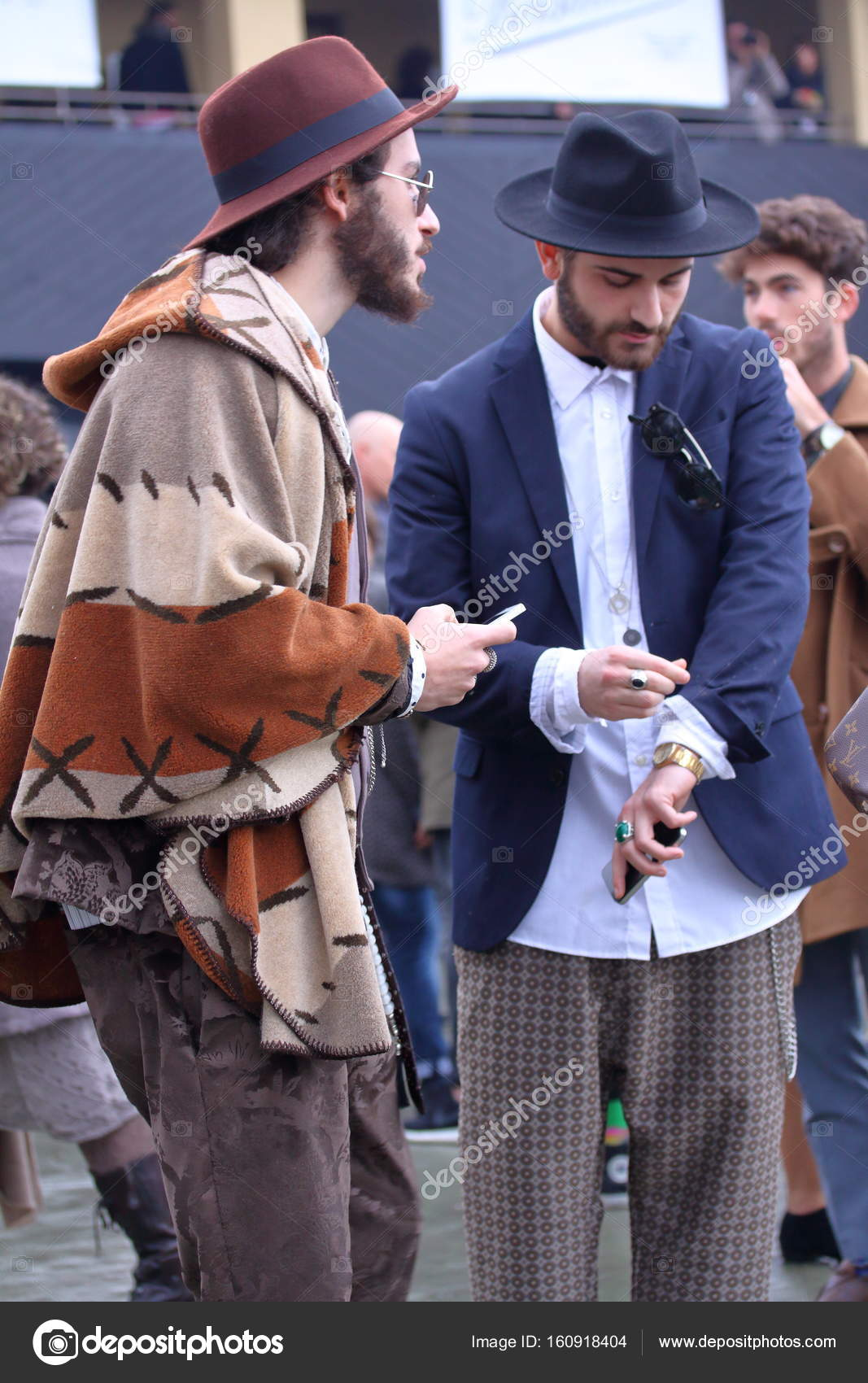 Street style at fashion fair Pitti uomo, Florence January ...