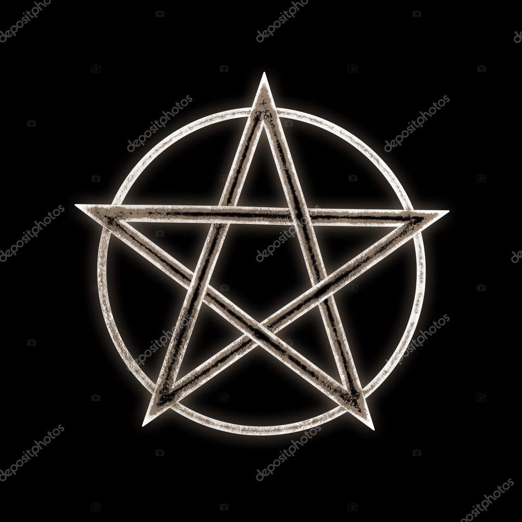 Pentagram Symbol Illustration Stock Photo Goku347 125639304