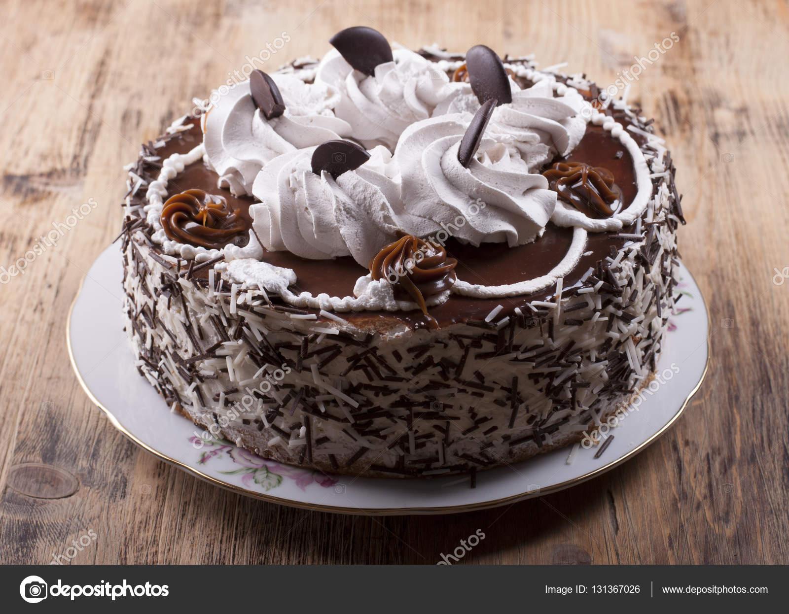 Kuchen Mit Protein Quark Creme Stockfoto C Galene 131367026