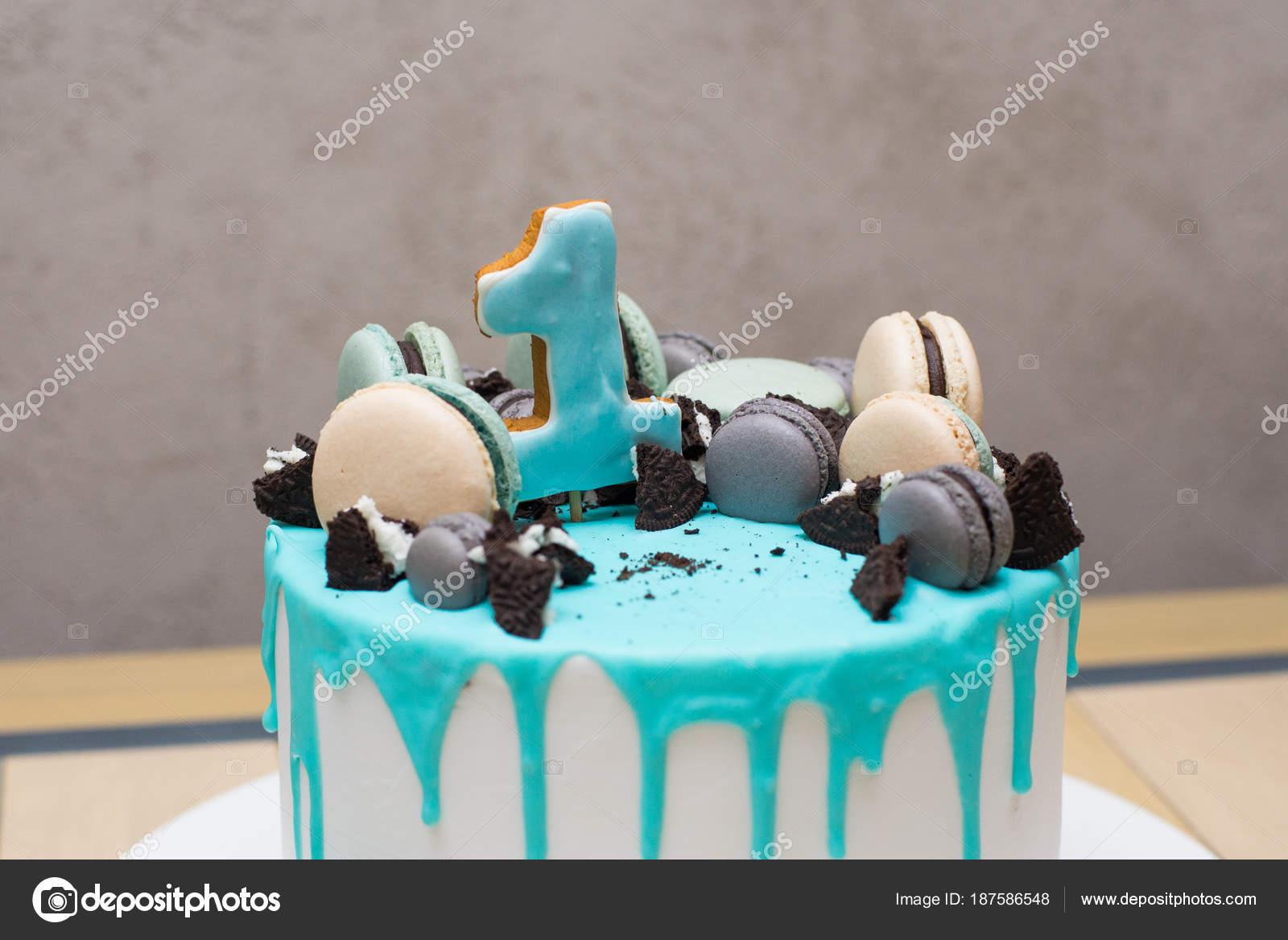 Projekt Tło Uroczysty Dla Obchody Urodzin Tort Dla Smakoszy
