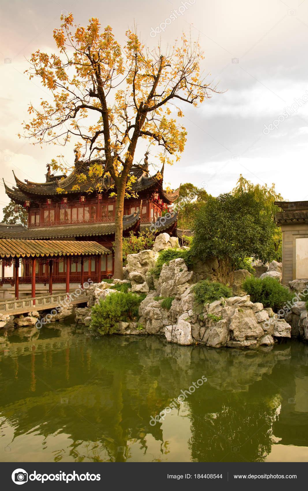 Pagoda Public Gardens Yuyuan Garden Garden Old Town Shanghai China