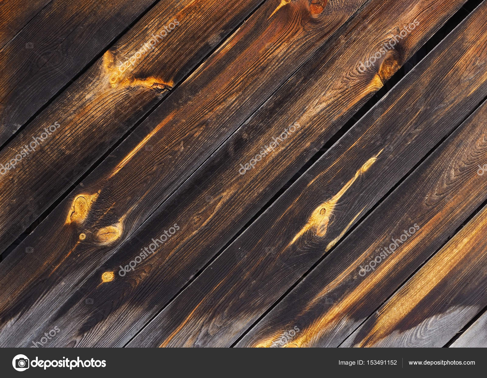 Dark Wood Panel Background Old Vintage Planked Wooden Texture Boards Empty Clear For Flat Lay Photo Design By Svsunny