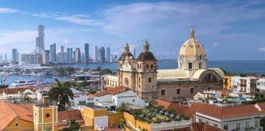 View of Cartagena de Indias, Colombia
