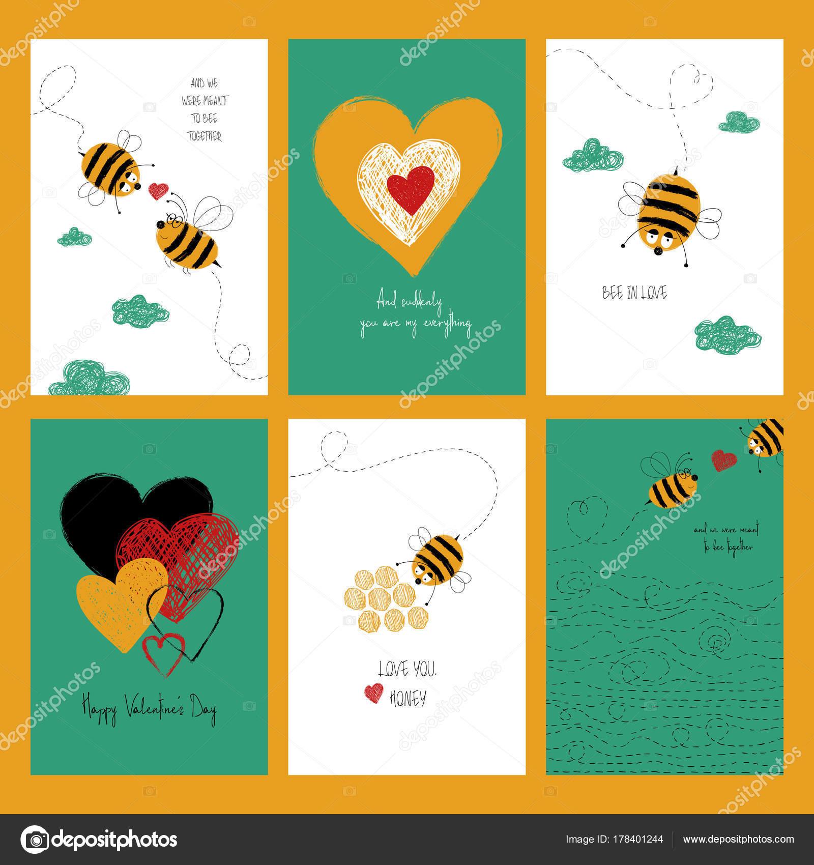 Imagenes Abejas Animadas Con Frases Juego De Cartas De Amor Con